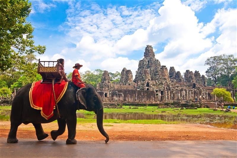 Cambodia, Elephant, Rides
