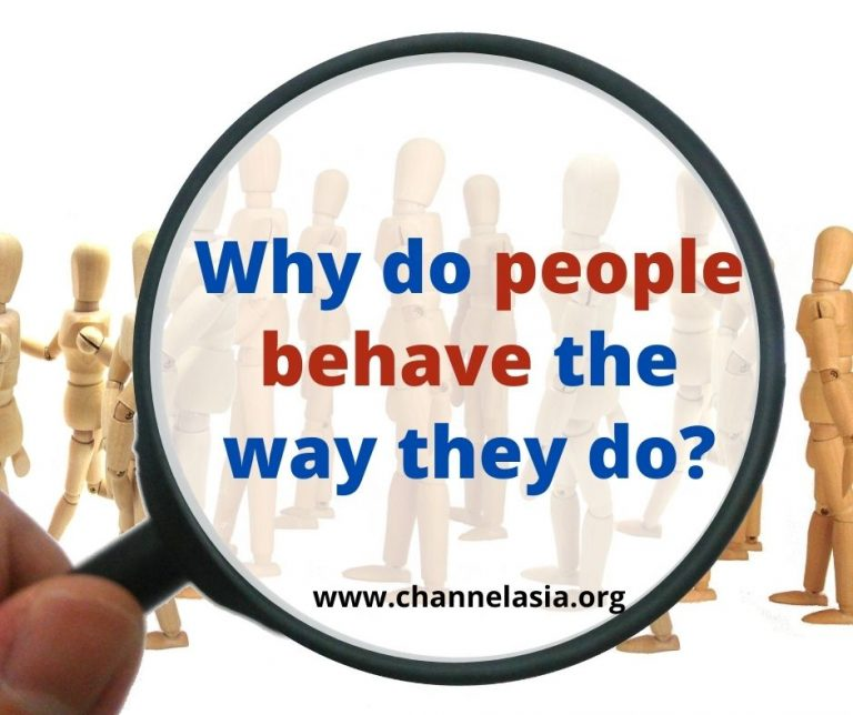 Why do people behave the way they do?