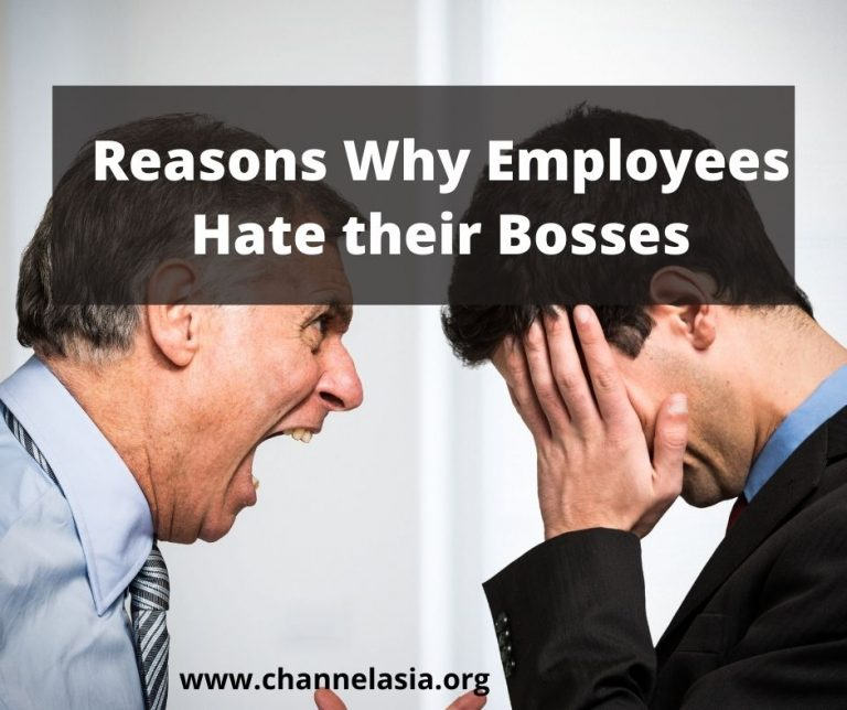 Reasons Why Employees Hate their Bosses