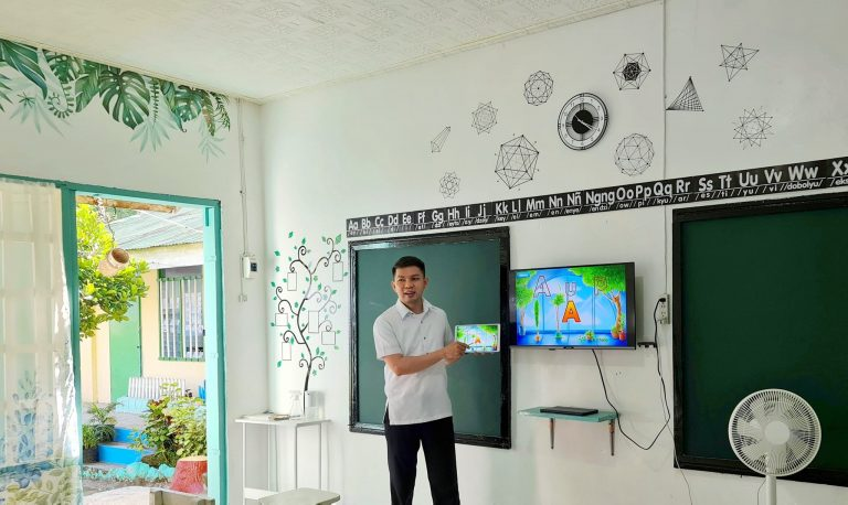 Classroom makeover for Php 20,000.00 only